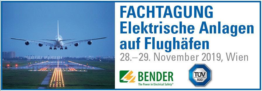 TÜV Süd: Elektrische Anlagen auf Flughäfen