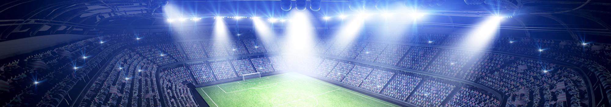 Beleuchtungsanlagen in EM-Stadien