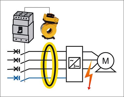 MRCDB303 mit Leistungsschalter