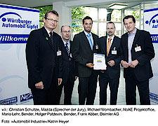 Platzierung für Bender beim NoAE Innovations-Wettbewerb 2009