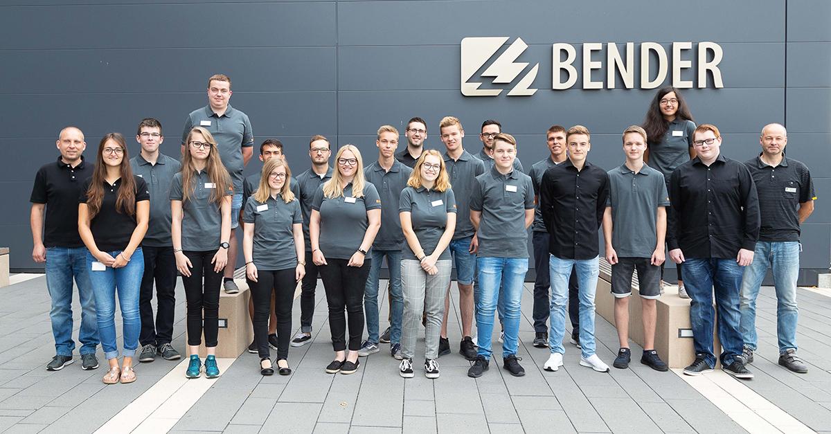 Karriere bei Bender – Start ins neue Ausbildungsjahr