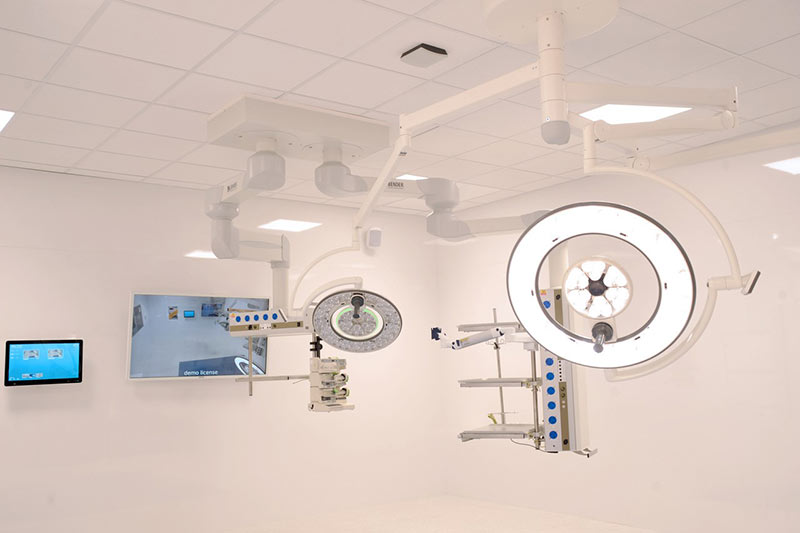 new operating theatre showroom