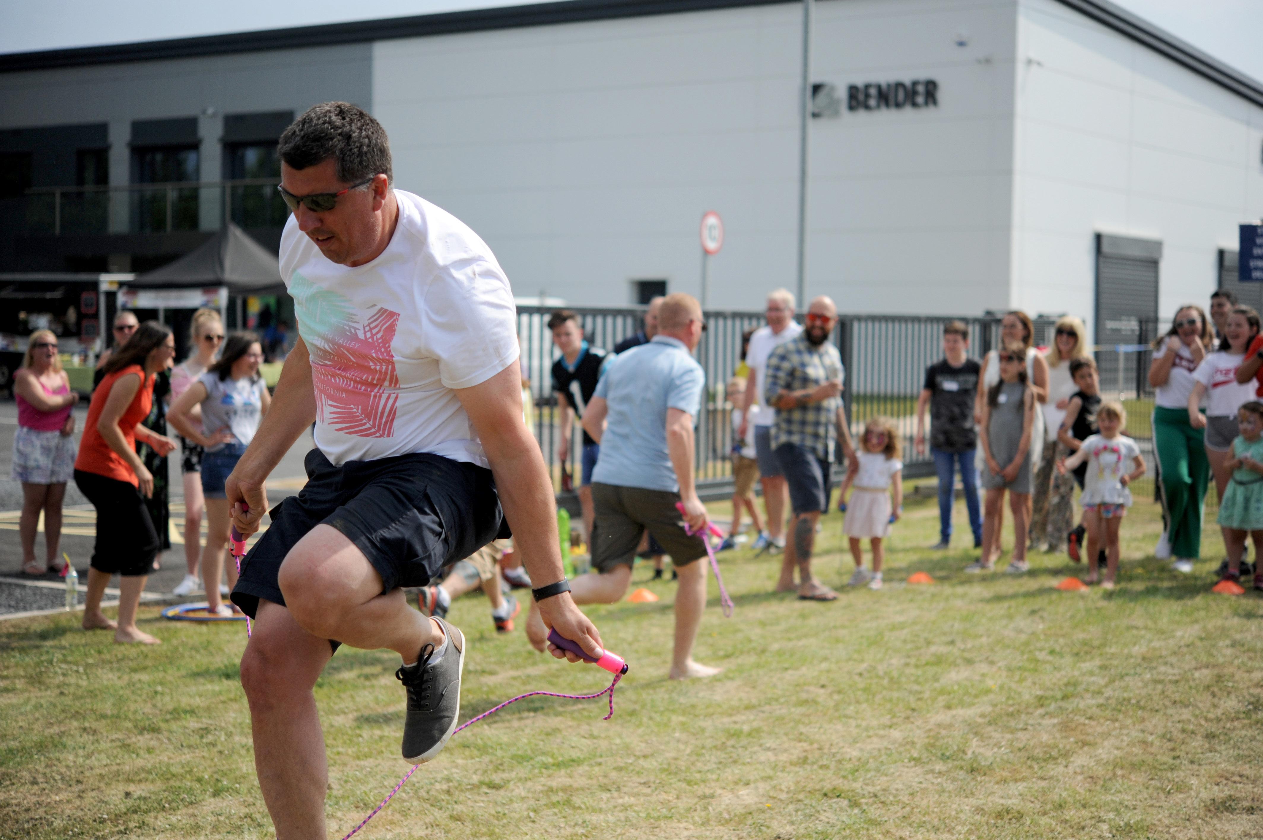 Bender UK Family Fun-day Raffle raises £1,000 for Sandside School