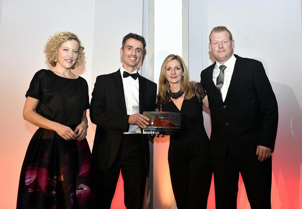 Bender UK – Awarded Best Customer Service Excellence