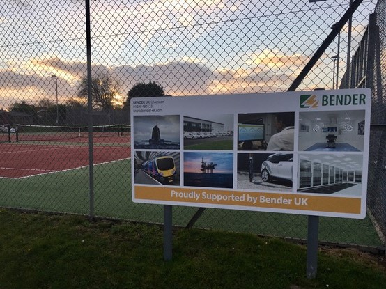Hawcoat Park Tennis Court