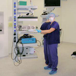 Bender UK commended for outstanding service on new operating theatre project