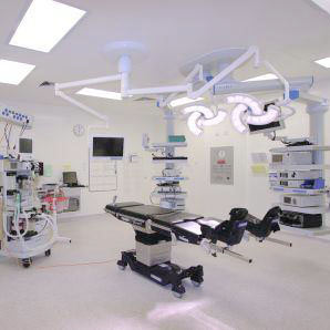 Theatre at Good Hope Hospital with Bender UK and Steris systems installed
