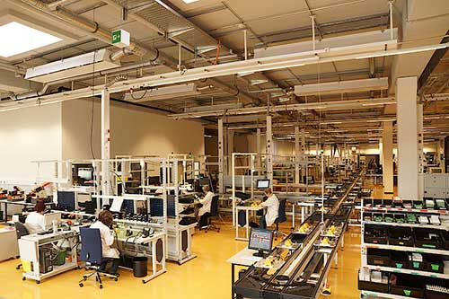 Modern Production in Germany – Bender Group