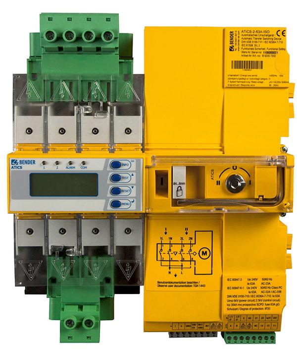 ATICS®-…-ISO - Switching equipment and isolated power panels (IPS ...