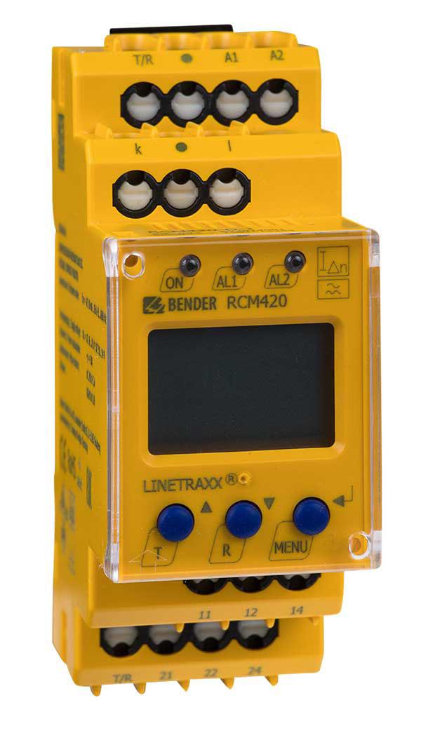 Elektrische Sicherheit beginnt in der Elektroinstallation mit dem allstromsensitiven Differenzstrom-Überwachungsgerät der Serie RCMB42…