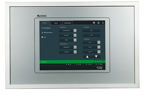 TCP - Touch Control Panel