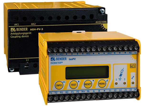 ISOMETER® isoPV mit AGH-PV